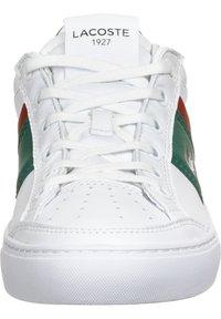 Lacoste - Sneakers basse - wht/grn - 6