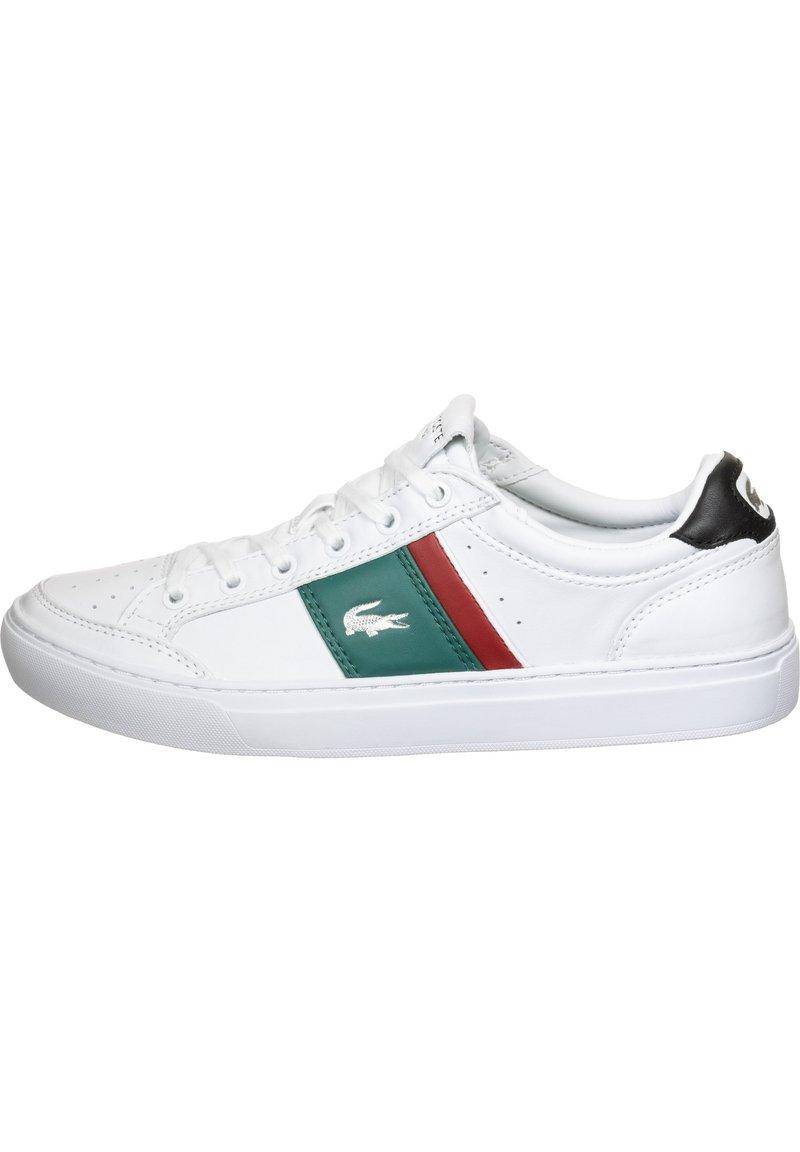 Lacoste - Sneakers basse - wht/grn