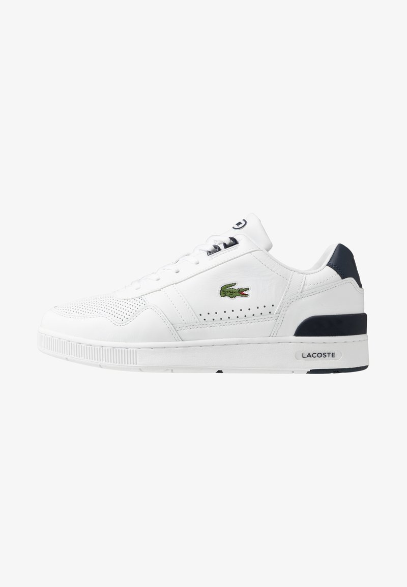Lacoste - T-CLIP - Trainers - white/navy