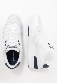 Lacoste - T-CLIP - Trainers - white/navy - 1