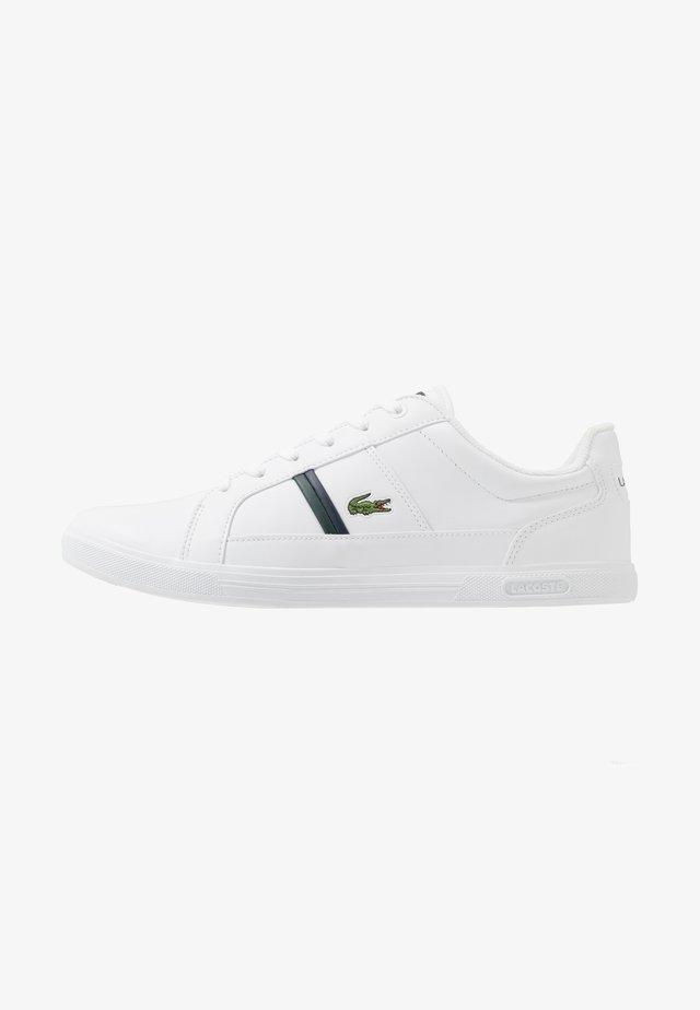 EUROPA - Trainers - white/dark green