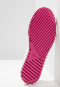 Lacoste - GAZON - Slip-ons - offwhite/dark pink - 5