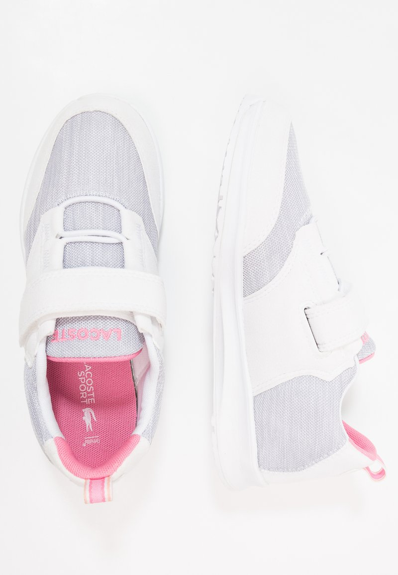 Lacoste - L.IGHT - Trainers - white/pink