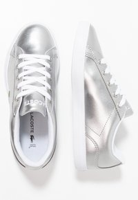 Lacoste - LEROND - Trainers - silver/white - 0