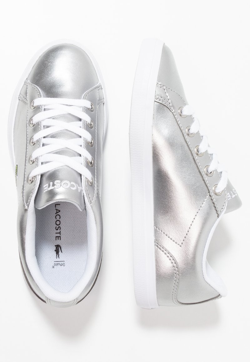Lacoste - LEROND - Trainers - silver/white