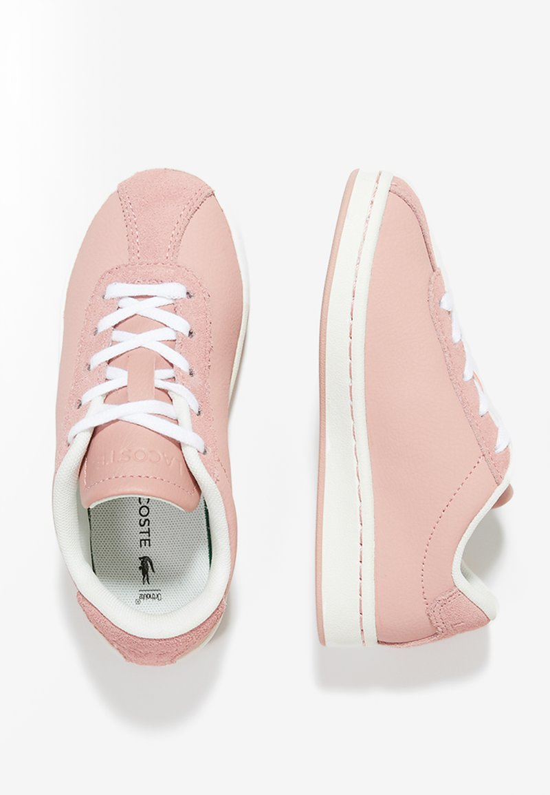Lacoste - MASTERS - Sneaker low - pink/off white