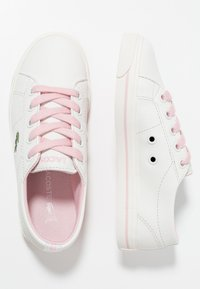 Lacoste - RIBERAC - Trainers - offwhite/light pink - 0