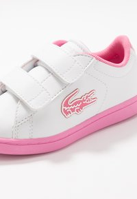 Lacoste - CARNABY EVO - Tenisky - white/pink - 2