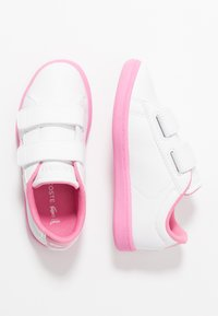 Lacoste - CARNABY EVO - Tenisky - white/pink - 0
