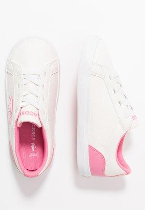 LEROND - Tenisky - white/pink