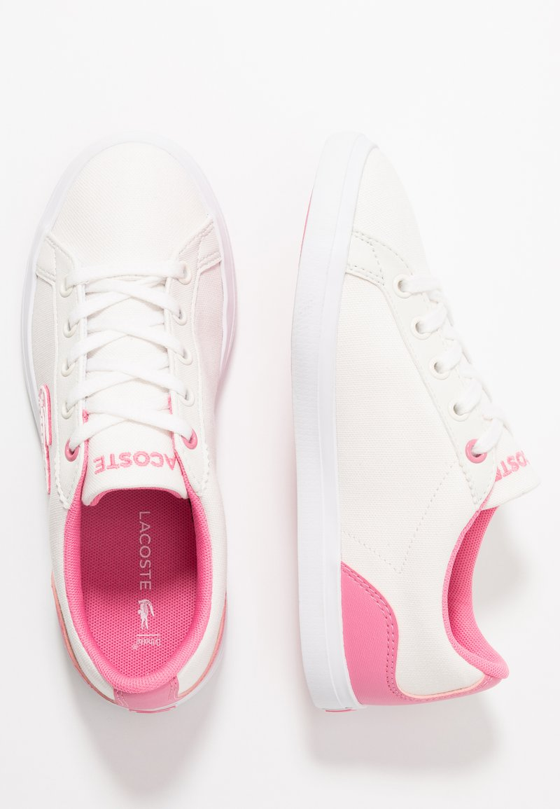 Lacoste - LEROND  - Sneaker low - white/pink
