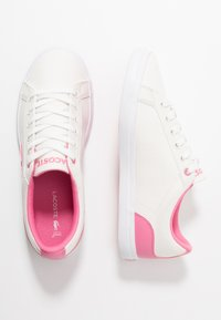 Lacoste - LEROND - Trainers - white/pink - 1