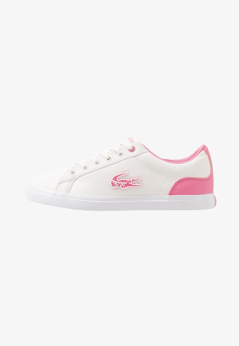 Lacoste - LEROND - Trainers - white/pink