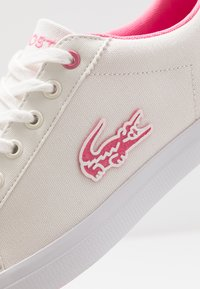 Lacoste - LEROND - Trainers - white/pink - 5