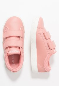 Lacoste - STRAIGHTSET  - Sneakers laag - pink/offwhite - 0
