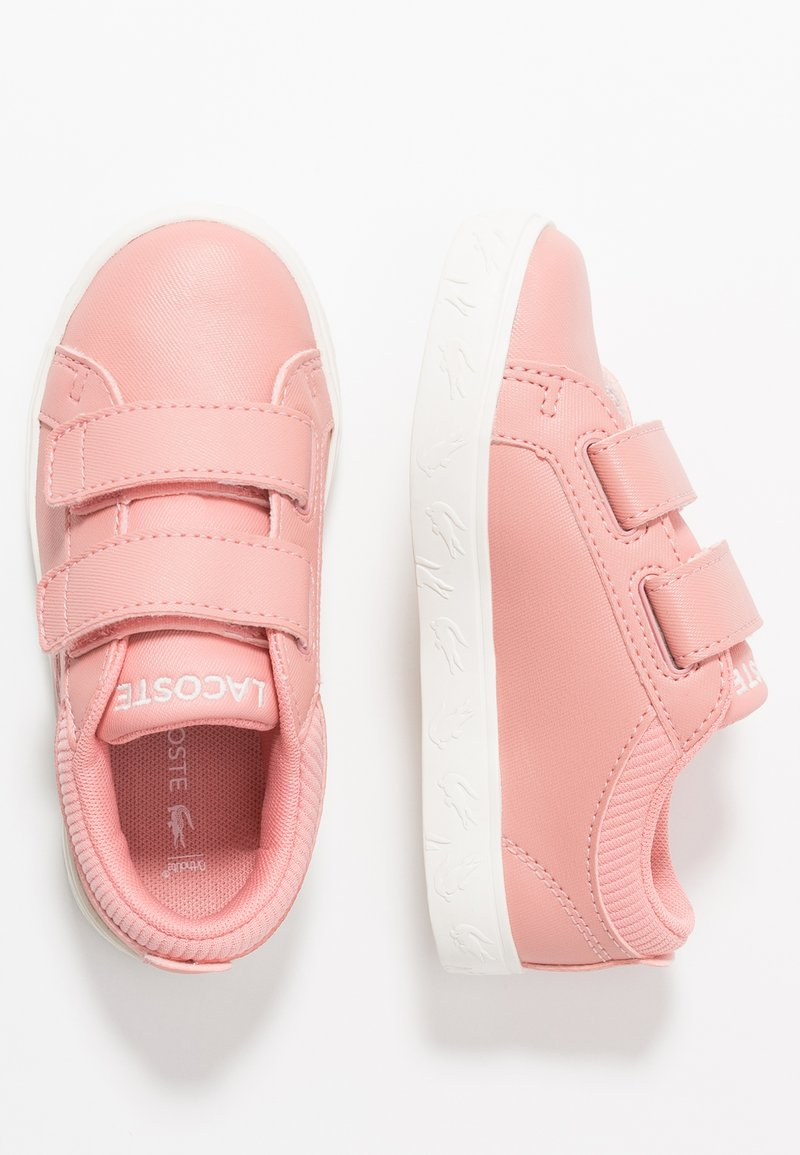 Lacoste - STRAIGHTSET  - Sneakers laag - pink/offwhite