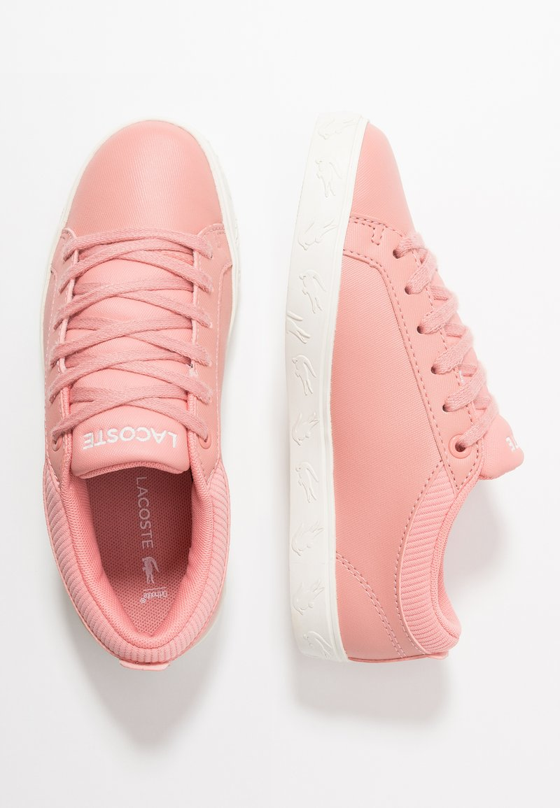 Lacoste - STRAIGHTSET - Sneaker low - pink/offwhite