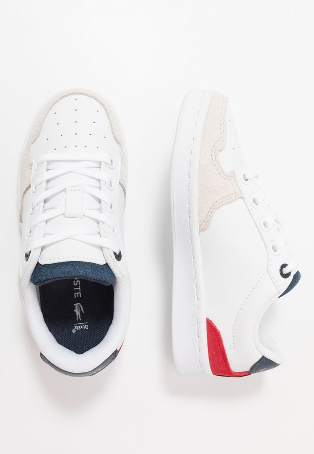 MASTERS CUP 120 - Sneakers laag - white/navy/red