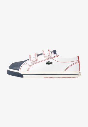 RIBERAC  - Sneakers basse - white/navy/red