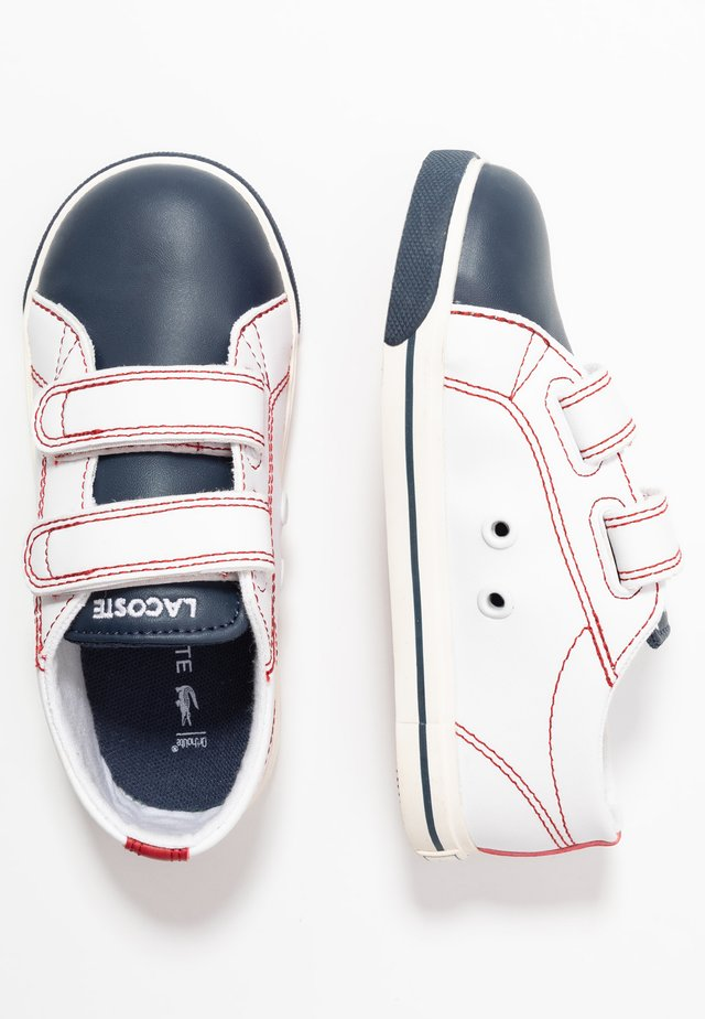 RIBERAC  - Sneakers - white/navy/red