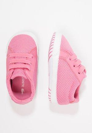 L.12.12 CRIB - Babyschoenen - pink/white