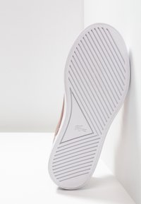 Lacoste - LEROND - Baby shoes - pink/white - 5