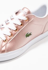 Lacoste - LEROND - Baby shoes - pink/white - 2