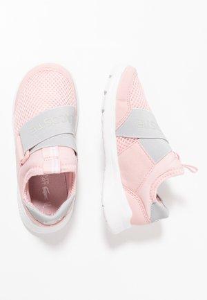 DASH SLIP - Instappers - light pink/grey