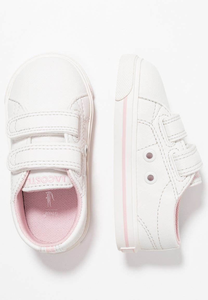 Lacoste - RIBERAC - Trainers - offwhite/light pink