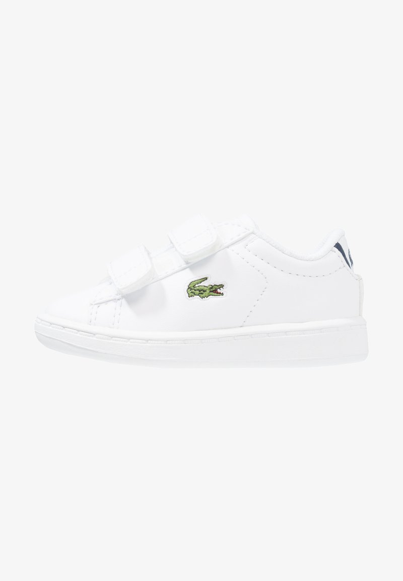Lacoste - CARNABY EVO BL 1 SPI - Trainers - white/navy