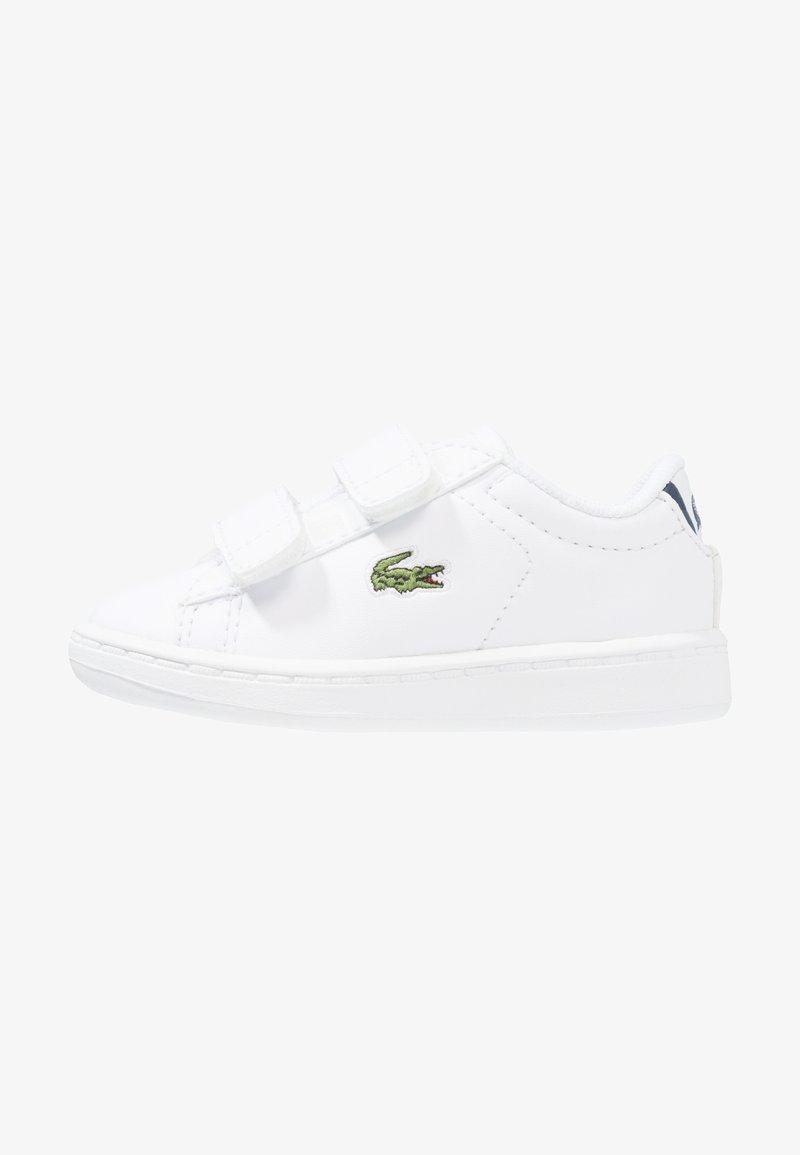 Lacoste - CARNABY EVO BL 1 SPI - Zapatillas - white/navy