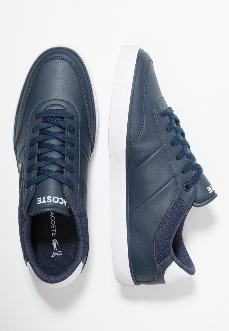 Lacoste - COURT-MASTER - Sneaker low - navy/white