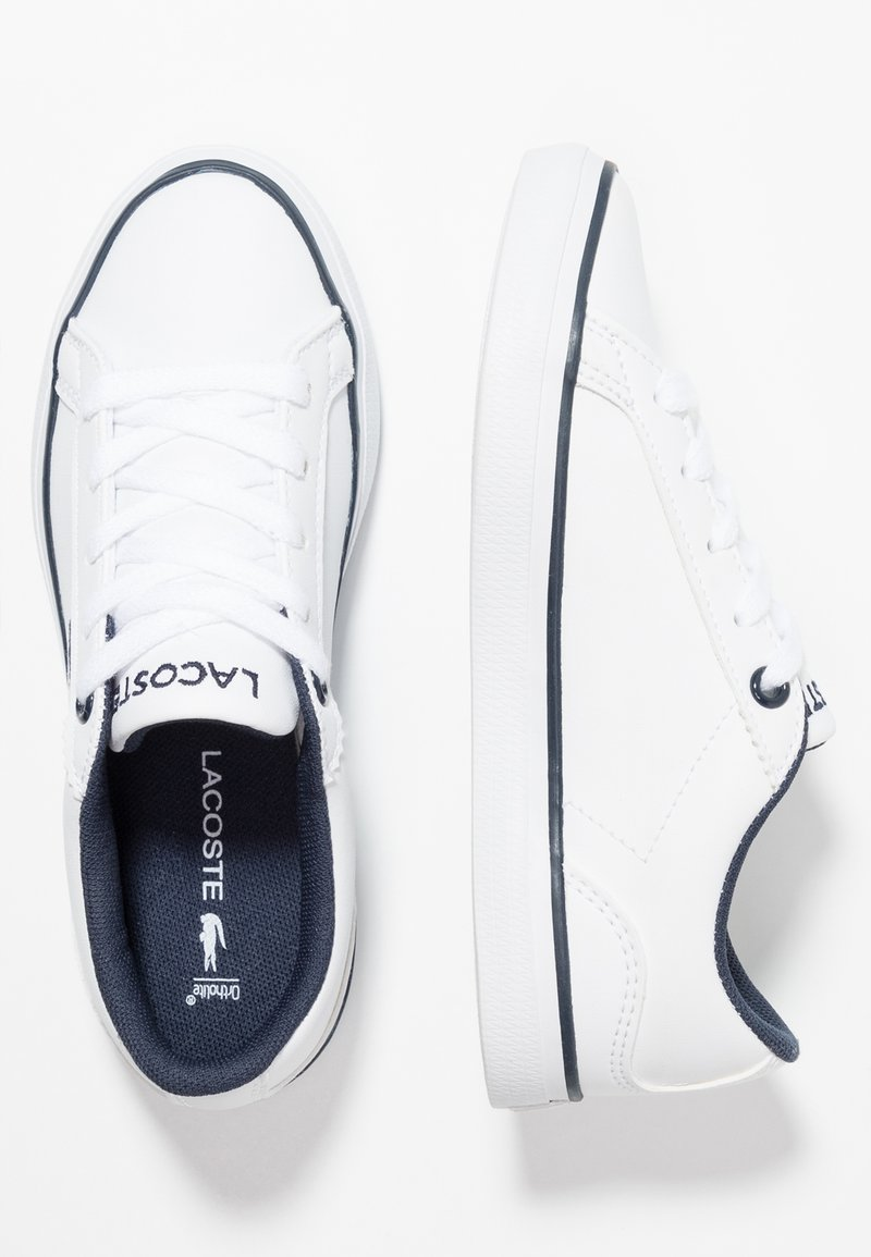 Lacoste - LEROND  - Sneaker low - white/navy