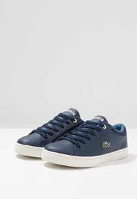 Lacoste - STRAIGHTSET - Trainers - navy/blue - 3