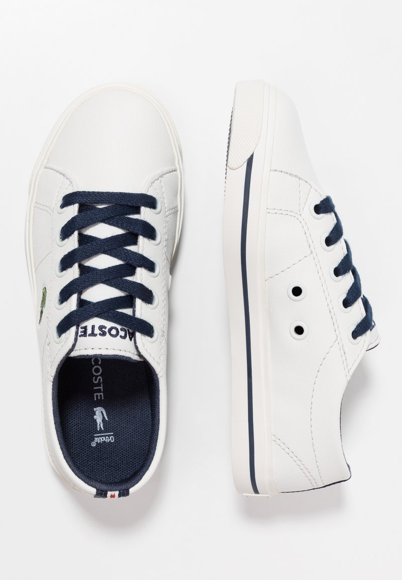 Lacoste - RIBERAC - Sneaker low - offwhite/navy