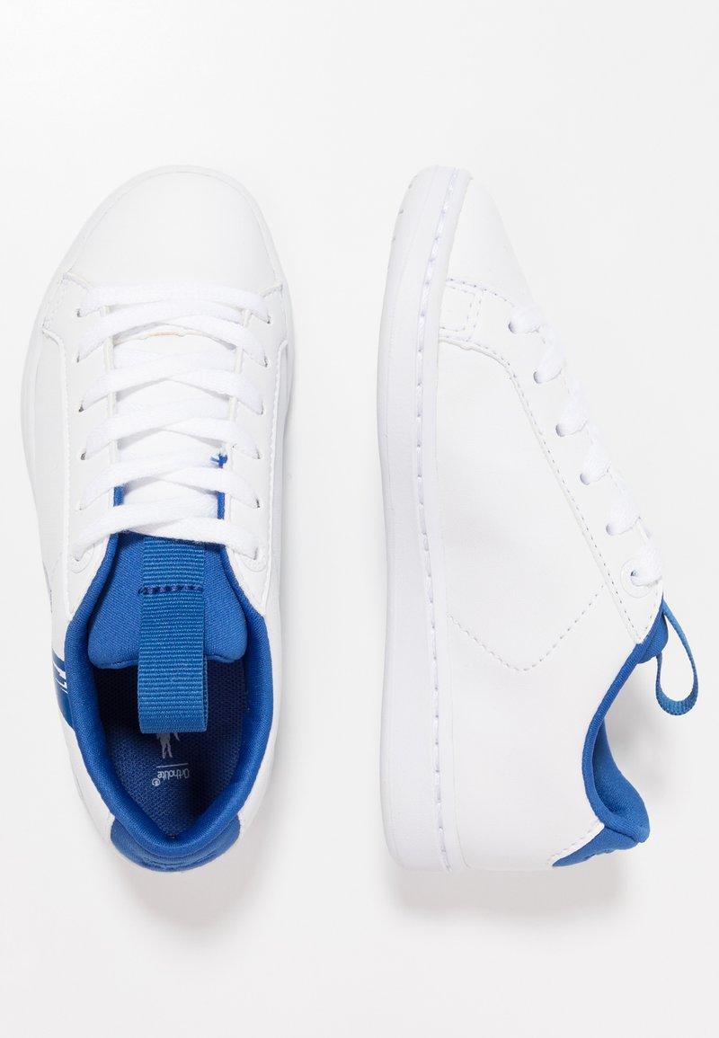 Lacoste - CARNABY EVO - Sneaker low - white/blue