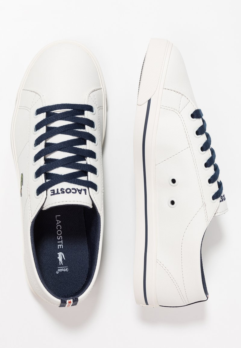 Lacoste - RIBERAC  - Trainers - offwhite/navy