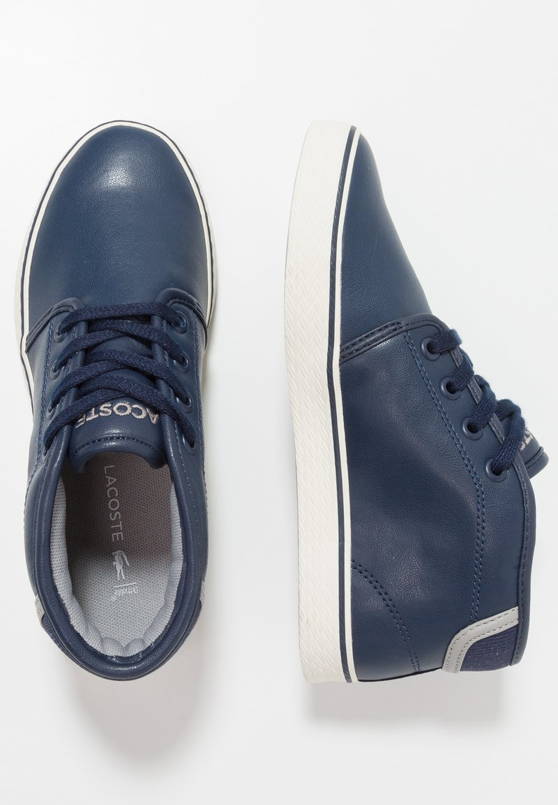 Lacoste - AMPTHILL - Sneaker high - navy/grey