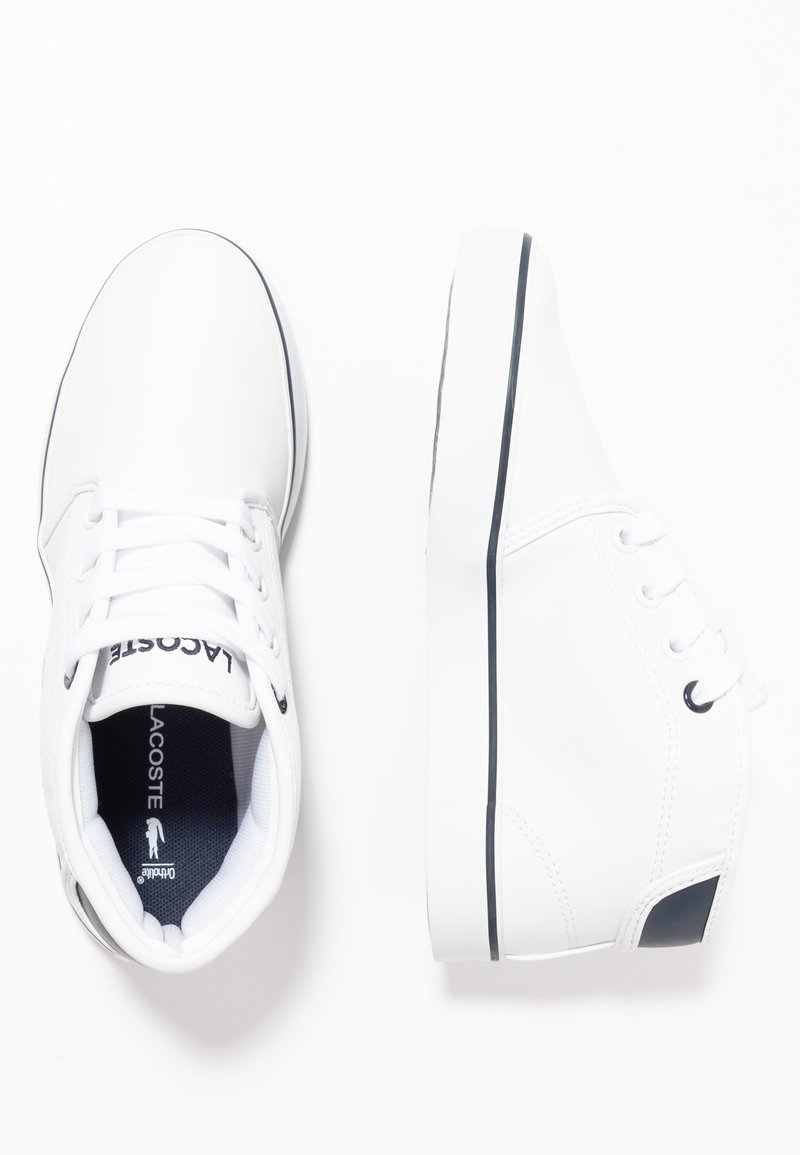 Lacoste - AMPTHILL - Sneaker high - white/navy