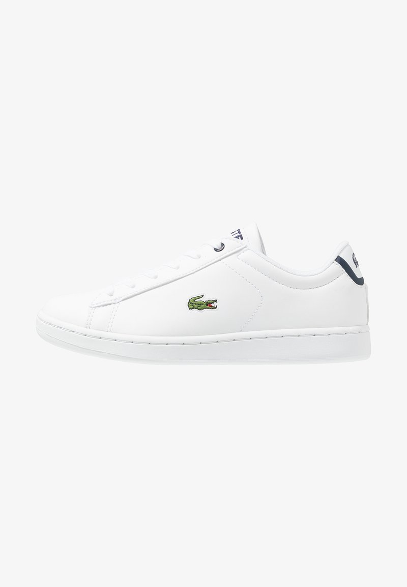 Lacoste - CARNABY EVO - Sneakers basse - white/navy