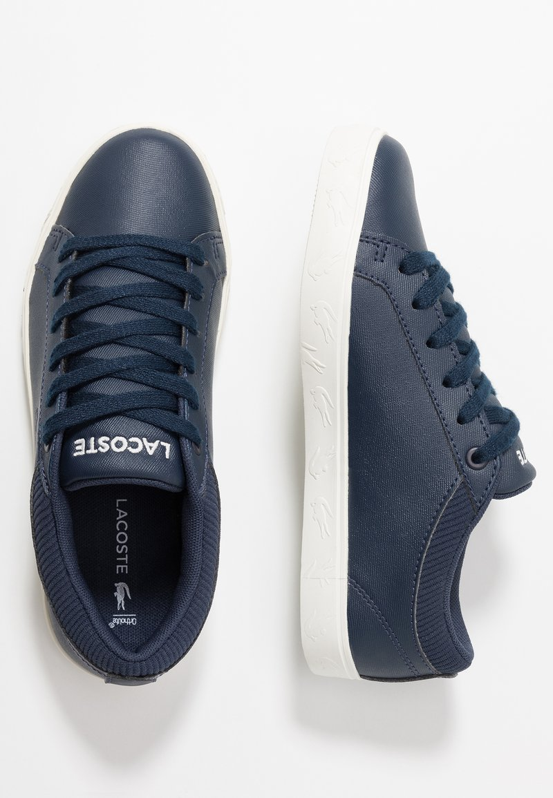 Lacoste - STRAIGHTSET - Sneaker low - navy/offwhite