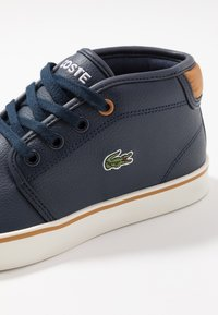 Lacoste - AMPTHILL - High-top trainers - navy/tan - 2