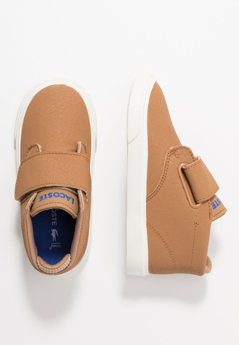 Lacoste - ESPARRE CHUKKA - Höga sneakers - light brown/offwhite