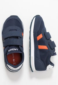 Lacoste - PARTNER - Zapatillas - navy/orange - 0