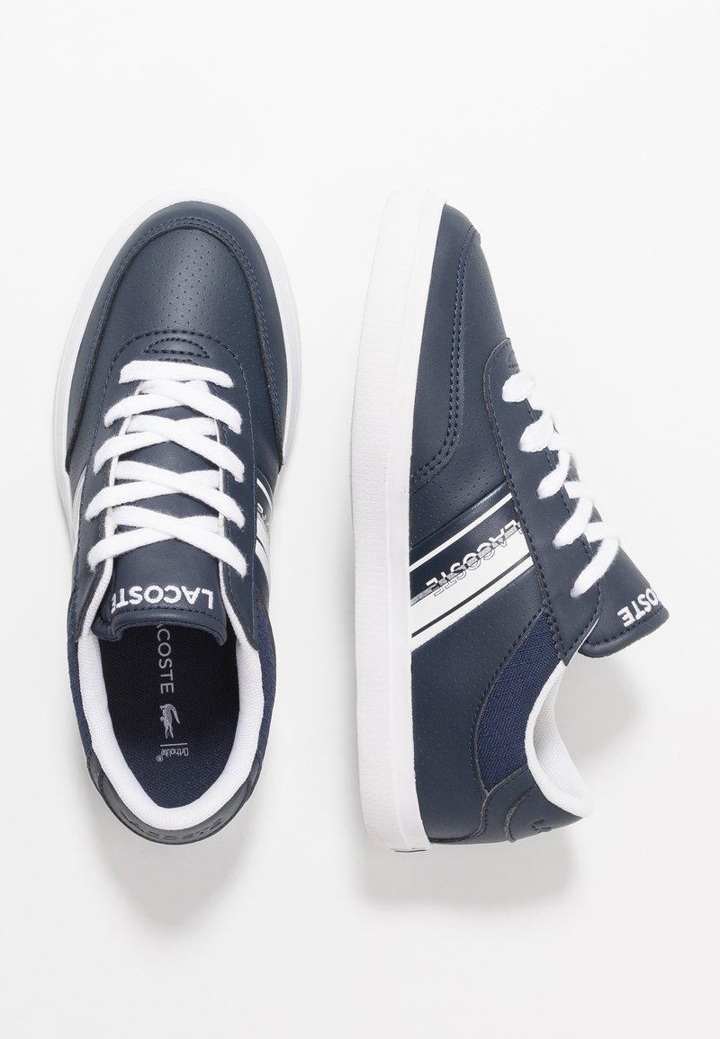 Lacoste - COURT-MASTER - Trainers - navy/white