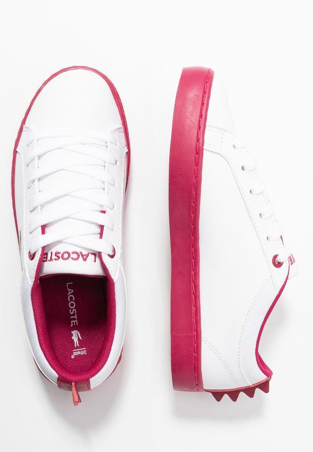 STRAIGHTSET  - Sneakers - white/dark pink