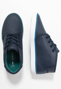 Lacoste - AMPTHILL - High-top trainers - navy/green - 0