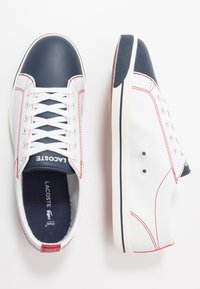 Lacoste - RIBERAC 120 - Trainers - white/navy/red - 0