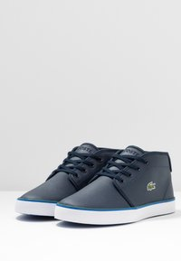 Lacoste - AMPTHILL  - High-top trainers - navy/green - 3