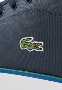 Lacoste - AMPTHILL  - High-top trainers - navy/green - 2